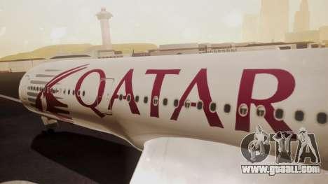 Airbus 350-900XWB Qatar Launch Customer for GTA San Andreas right view
