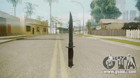 Atmosphere Knife v4.3 for GTA San Andreas second screenshot