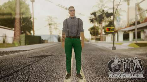 GTA Online Skin Hipster for GTA San Andreas second screenshot