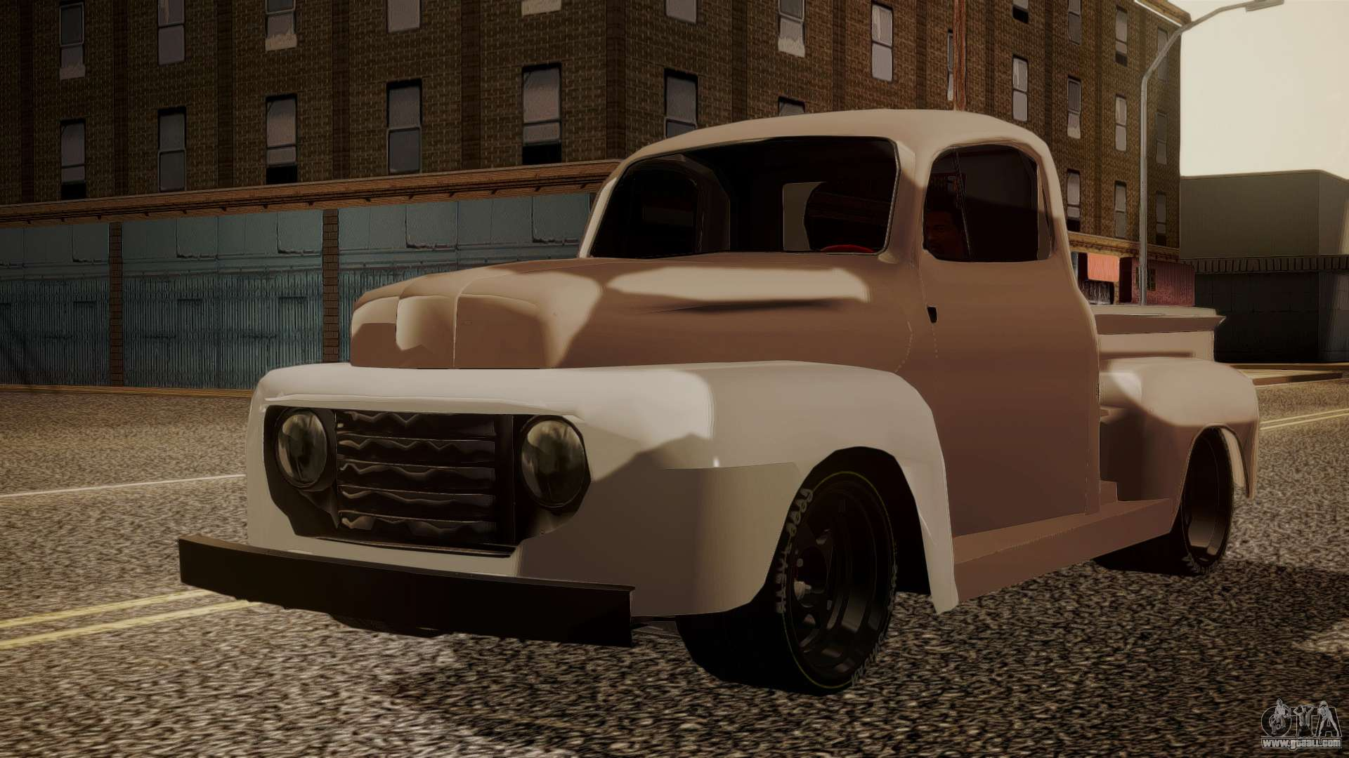 Ford F 100 For Gta San Andreas 1941 F100 V8 1948 Simple Black Edition