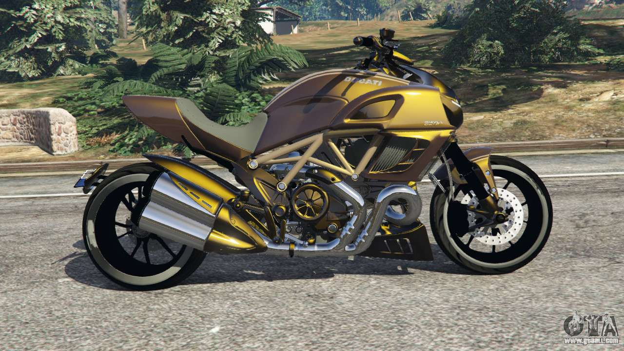 ducati diavel carbon 11 v1 1 for gta 5. Black Bedroom Furniture Sets. Home Design Ideas