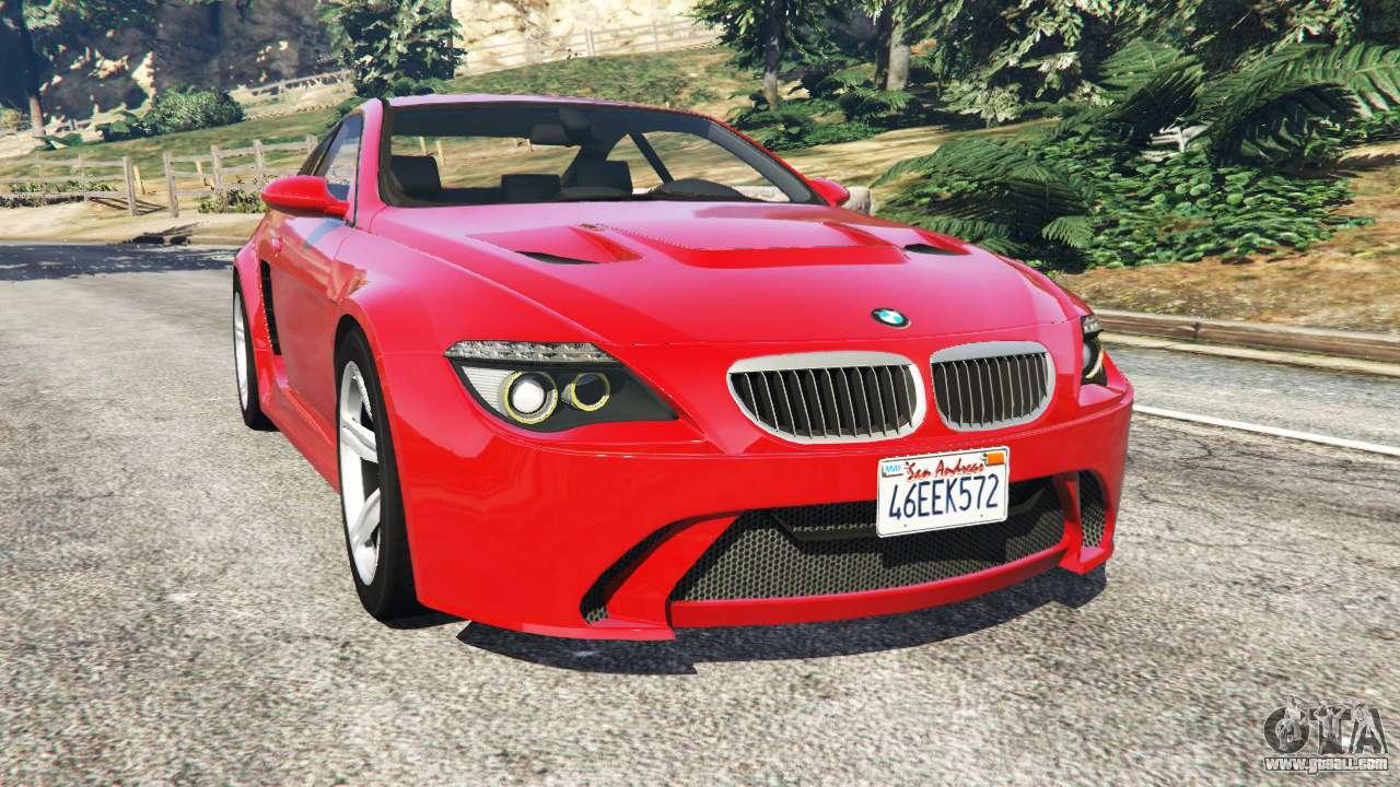 Bmw M6 E63 Widebody V0 1 Red For Gta 5