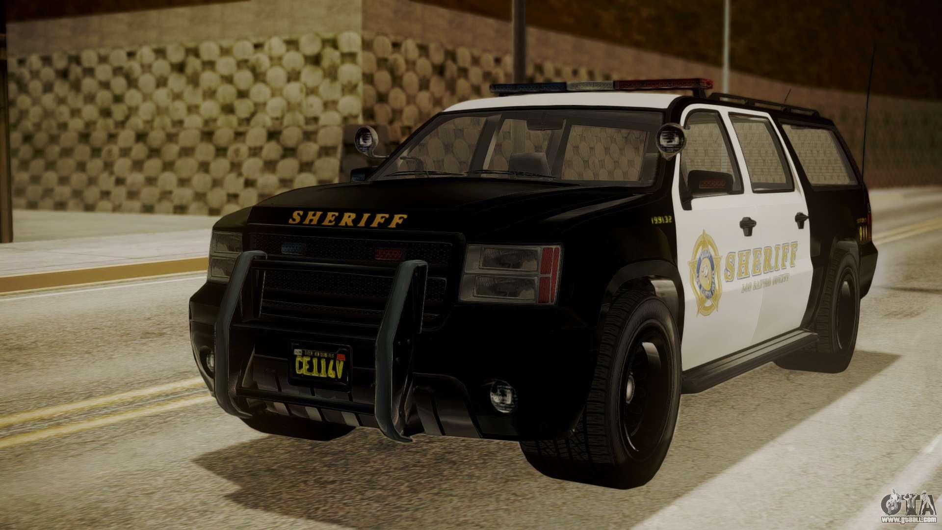 GTA 5 Declasse Granger Sheriff SUV for GTA San Andreas