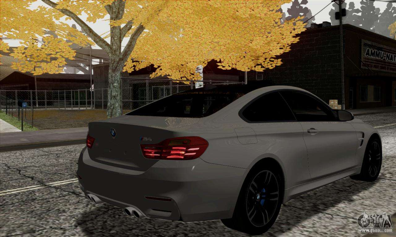 bmw m4 f82 for gta san andreas. Black Bedroom Furniture Sets. Home Design Ideas