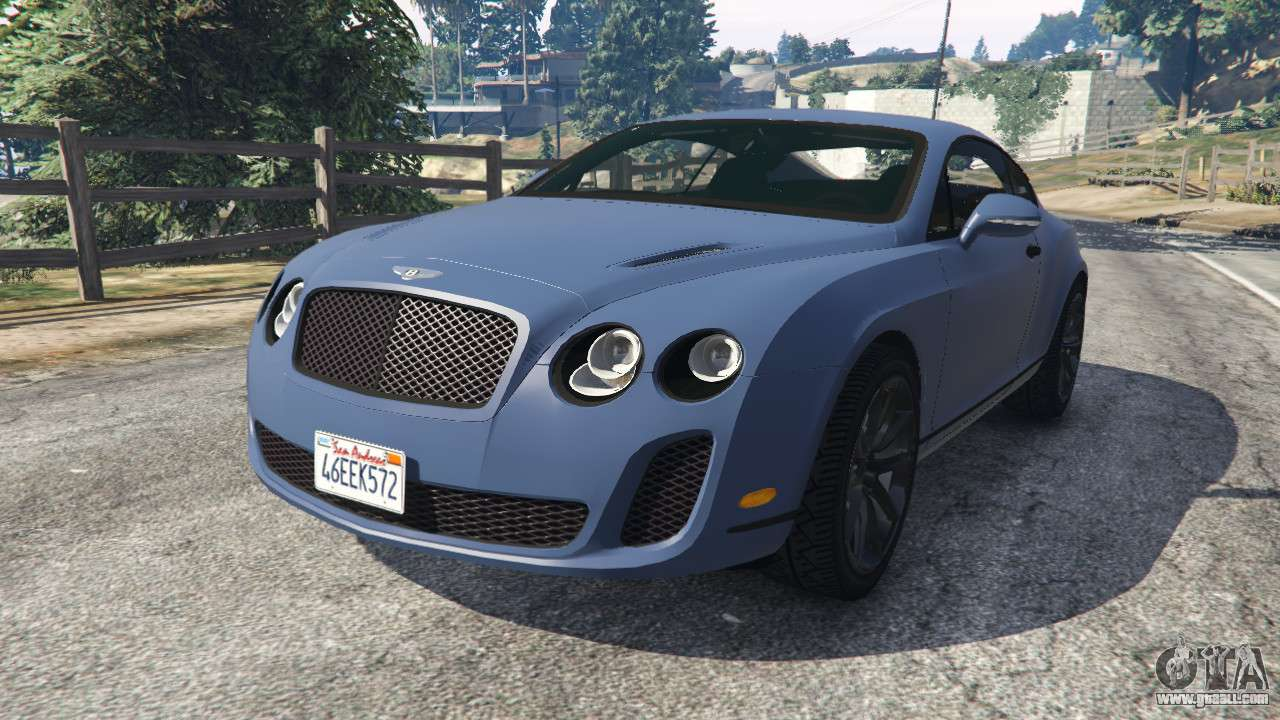 bentley continental supersports beta2 for gta 5. Black Bedroom Furniture Sets. Home Design Ideas