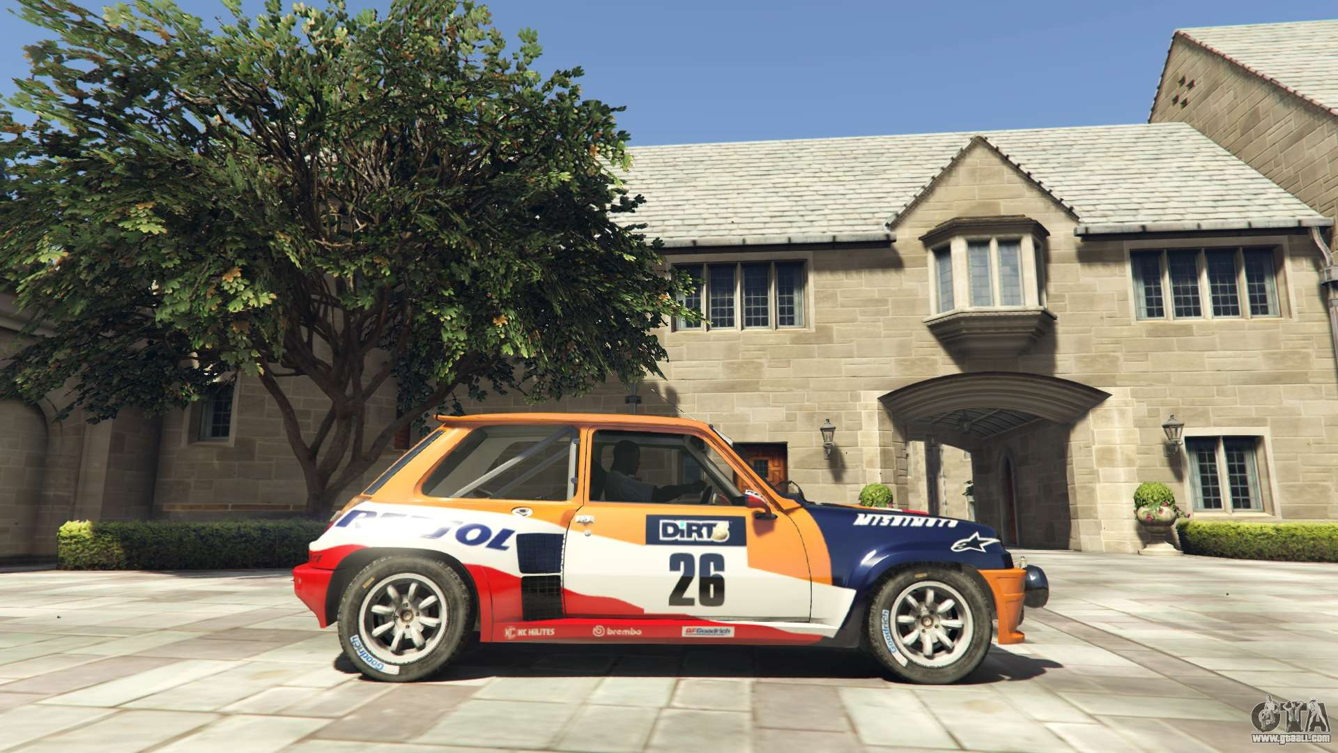 renault 5 gt turbo rally for gta 5. Black Bedroom Furniture Sets. Home Design Ideas