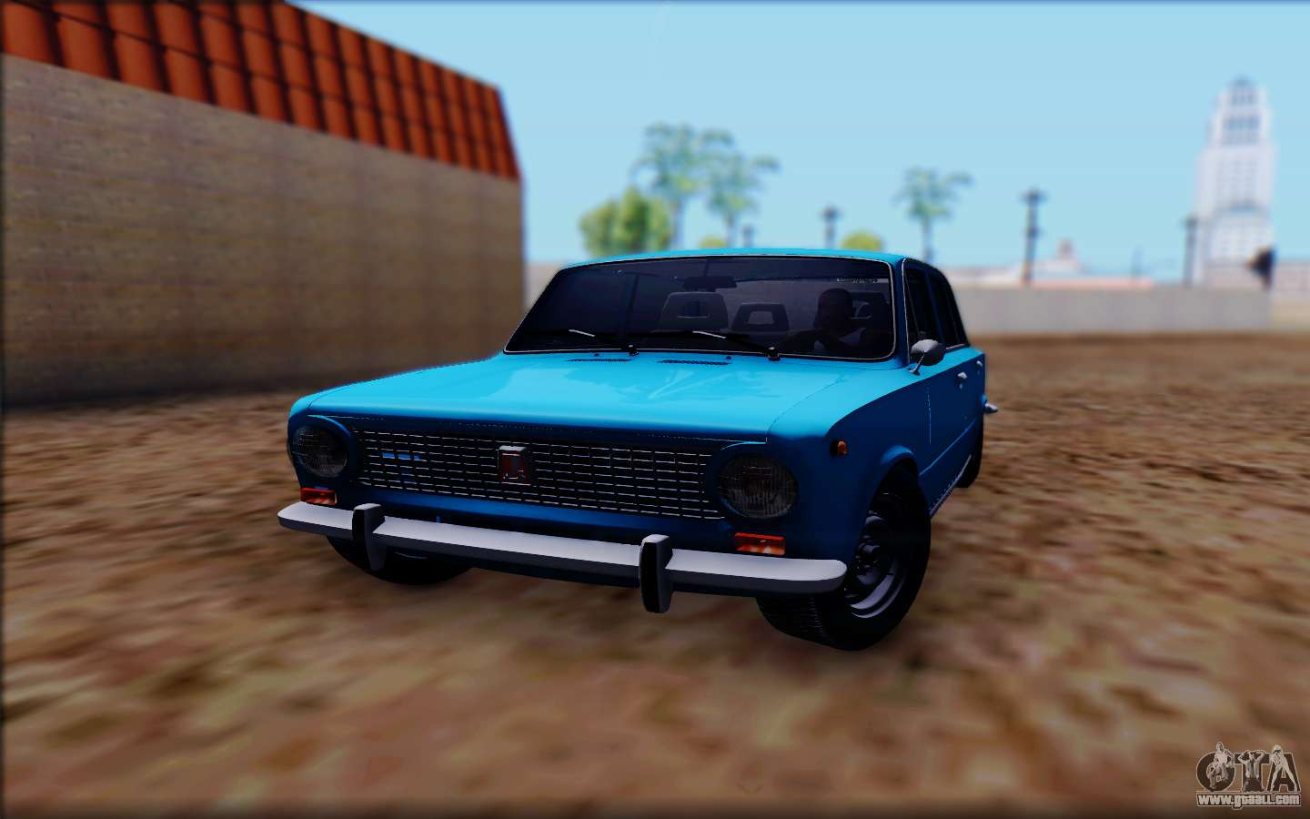 vaz 2101 v1 for gta san andreas. Black Bedroom Furniture Sets. Home Design Ideas