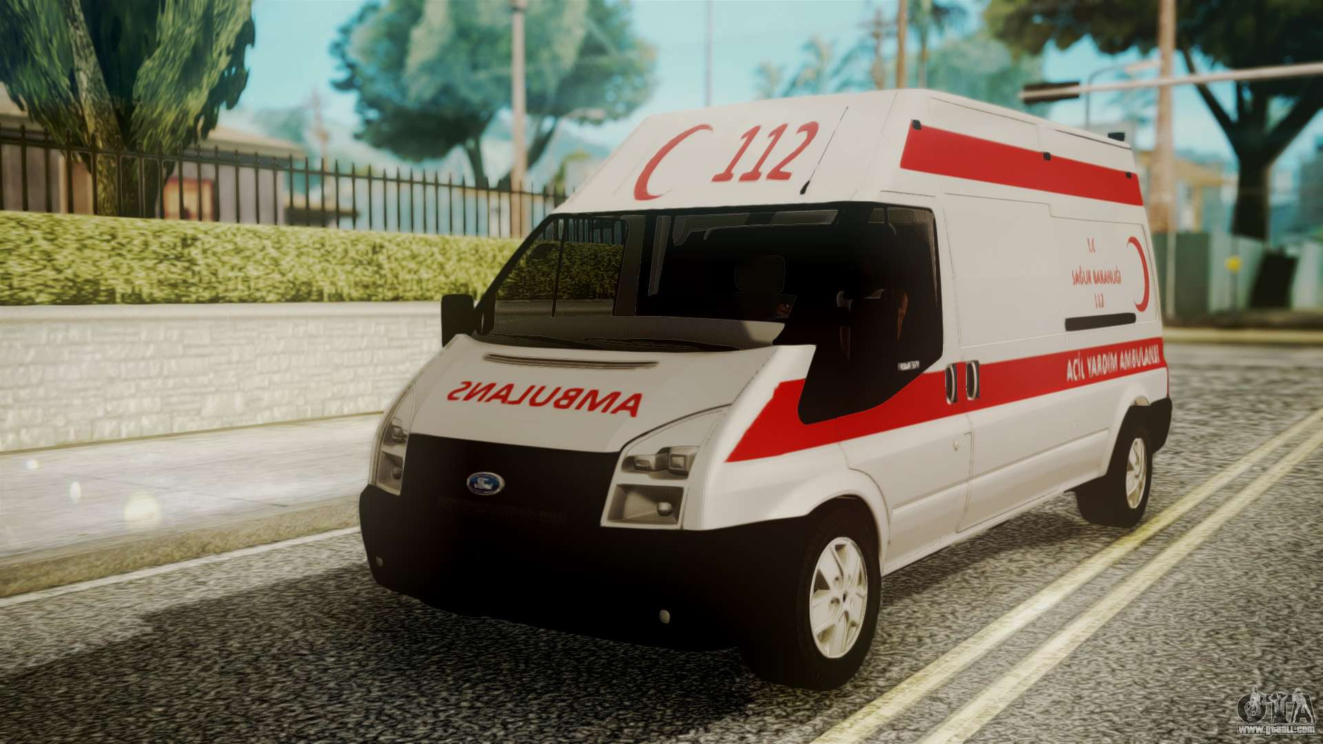 Ford transit jumbo ambulance