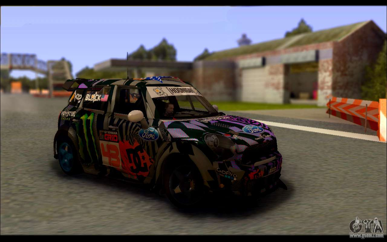 mini cooper gymkhana 6 with drift handling for gta san andreas. Black Bedroom Furniture Sets. Home Design Ideas
