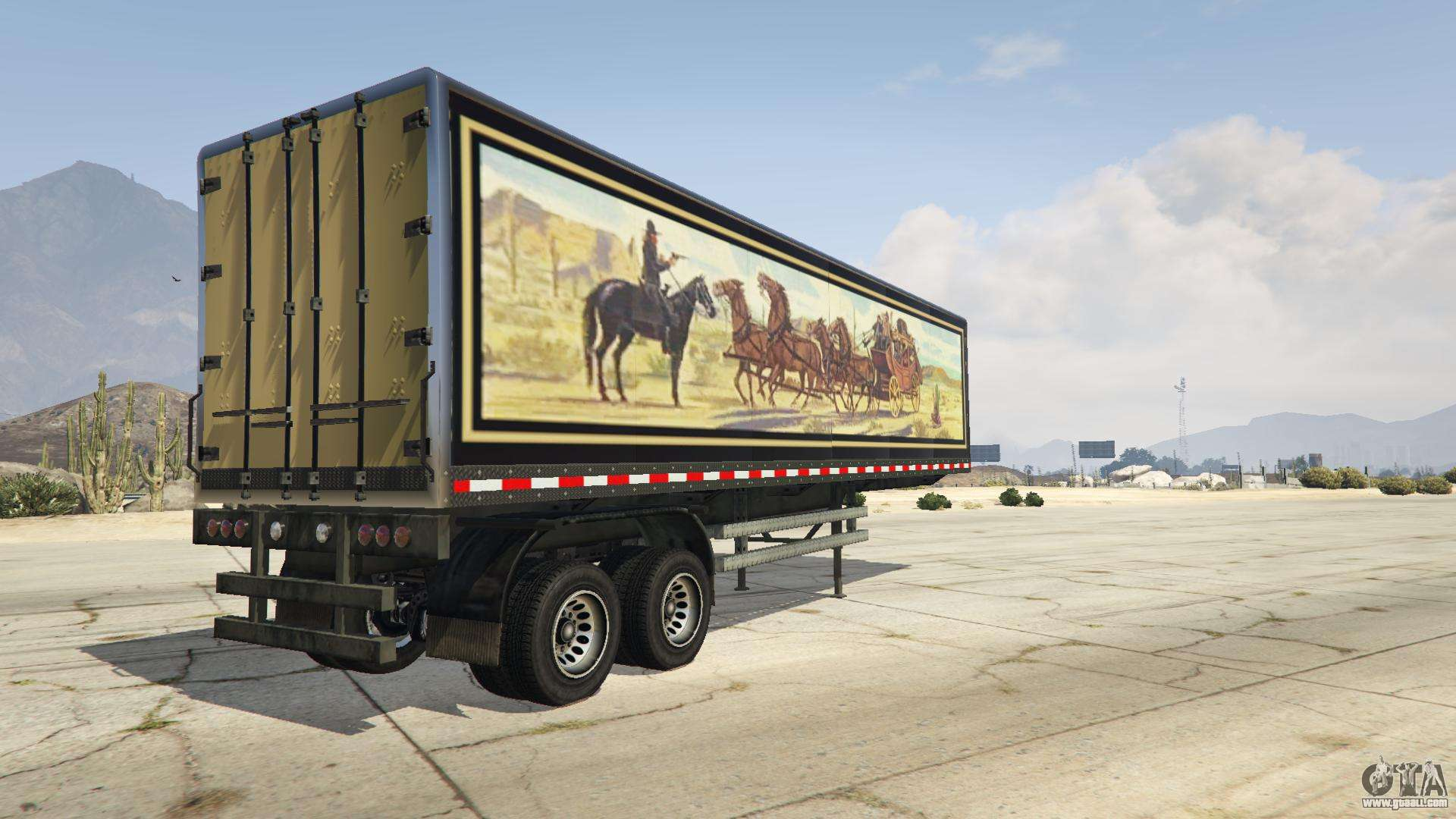 smokey and the bandit trailer for gta 5. Black Bedroom Furniture Sets. Home Design Ideas