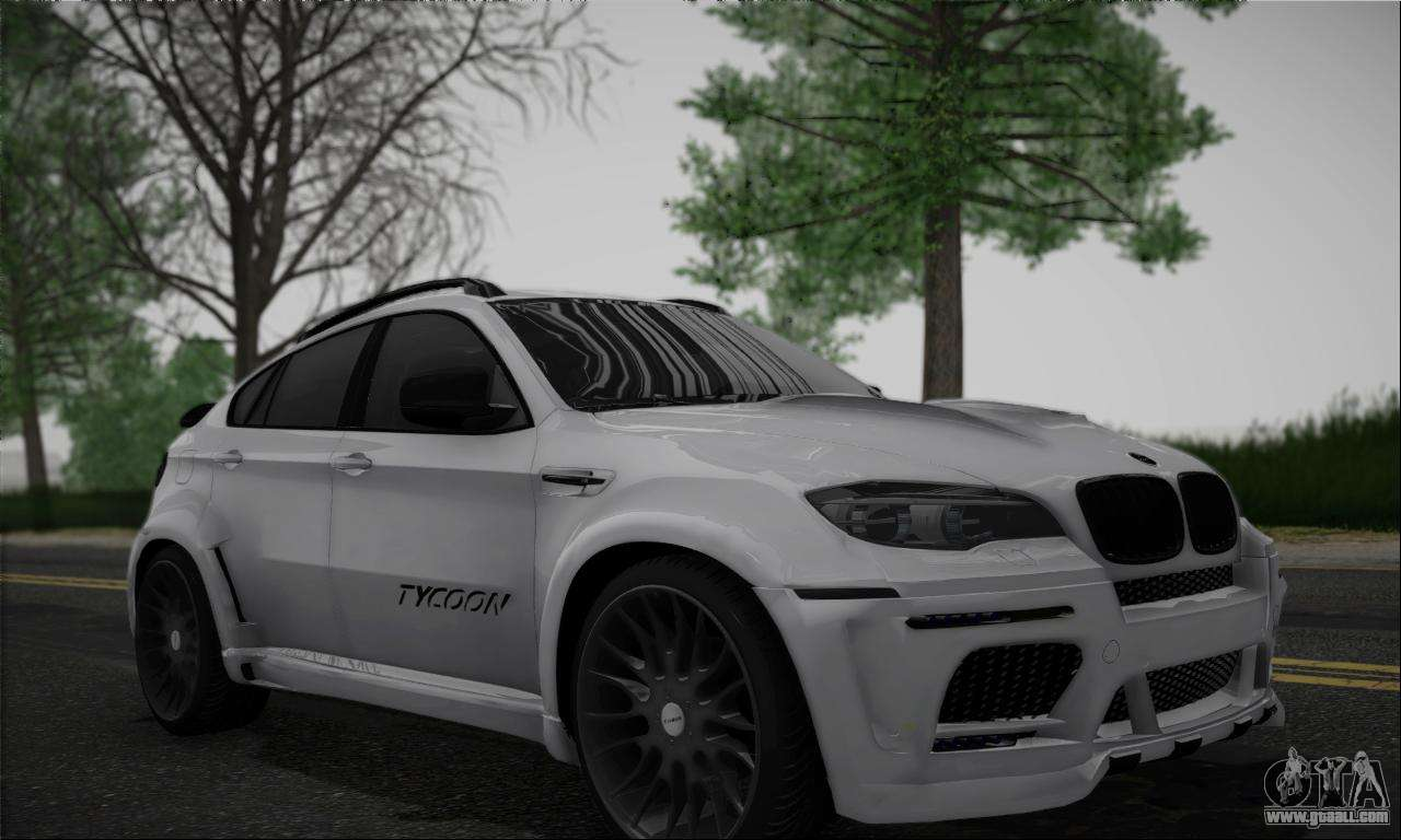 bmw x6m hamann final for gta san andreas. Black Bedroom Furniture Sets. Home Design Ideas