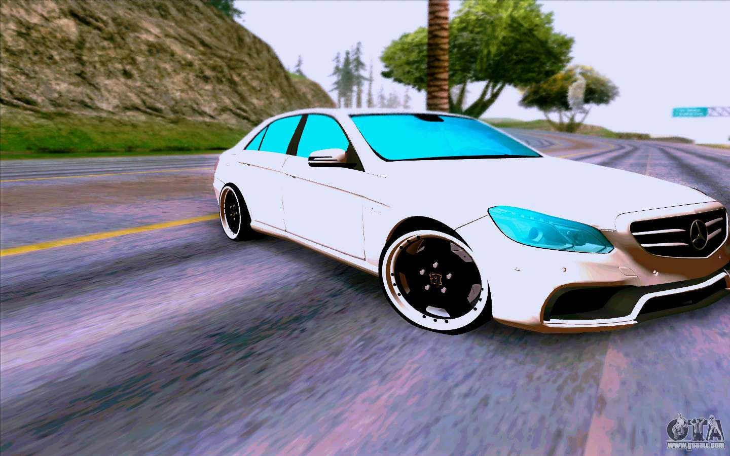 mercedes benz e63 amg for gta san andreas. Black Bedroom Furniture Sets. Home Design Ideas