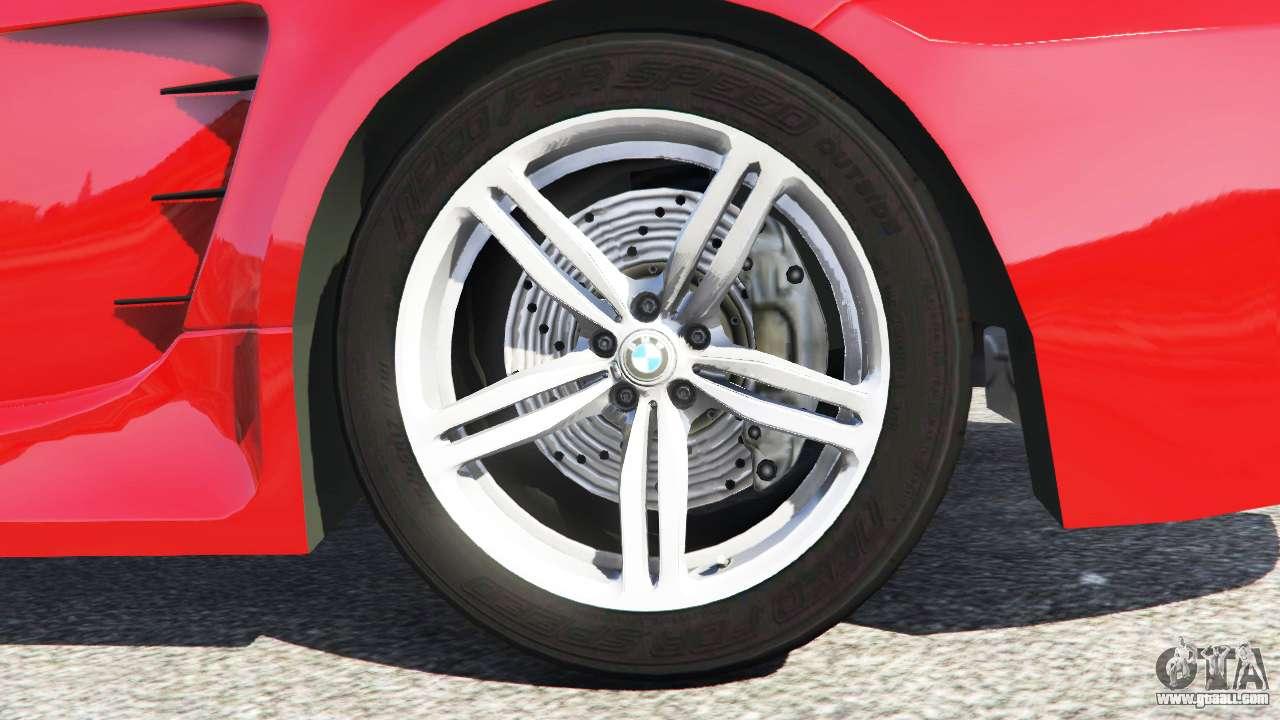 BMW M6 (E63) WideBody v0.1 [red] for GTA 5 Ubermacht Zion Cabrio Gta 5