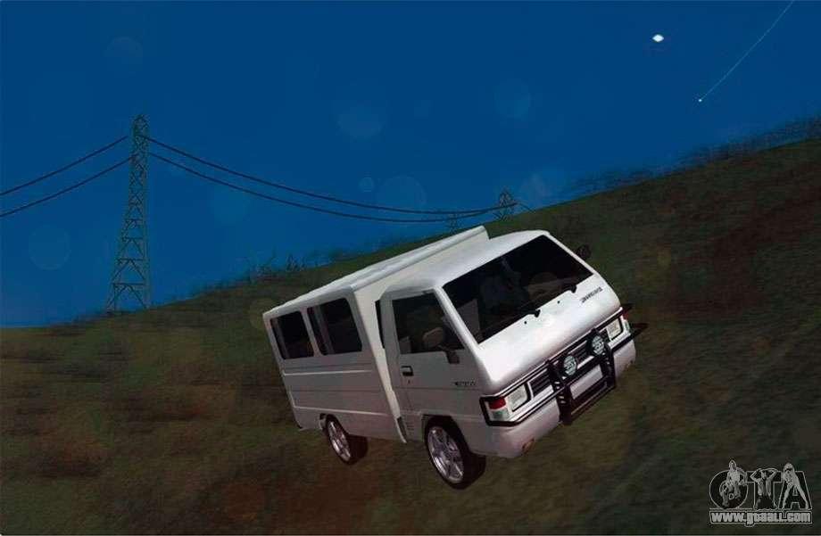 Mitsubishi L300 FB Van For GTA San Andreas