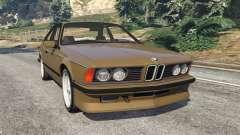 BMW M635 CSI (E24) 1986 for GTA 5