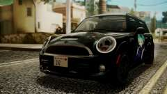 Mini Cooper Clubman 2011 Hatsune Miku Itasha for GTA San Andreas