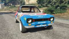 Ford Escort MK1 v1.1 [JE Pistons] for GTA 5