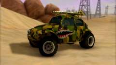 Volkswagen Baja Buggy Camo Shark Mouth for GTA San Andreas