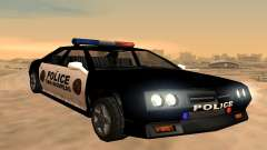 Four police Buffalo for GTA San Andreas