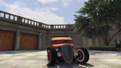 Ford Pickup HoTrod 1936 for GTA 5