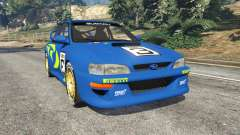 Subaru Impreza WRC 1998 for GTA 5