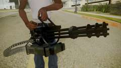 Atmosphere Minigun v4.3 for GTA San Andreas