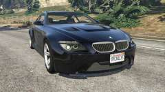 BMW M6 (E63) WideBody v0.1 for GTA 5