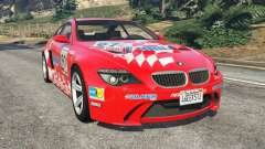 BMW M6 (E63) WideBody v0.1 [Carrillo] for GTA 5