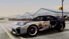 Mazda RX-7 Black Rock Shooter Itasha for GTA San Andreas
