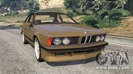 BMW M635 CSI (E24) 1986 for GTA 5