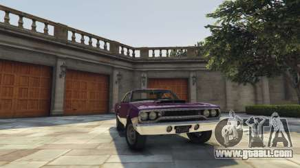 Plymouth Road Runner 1970 for GTA 5