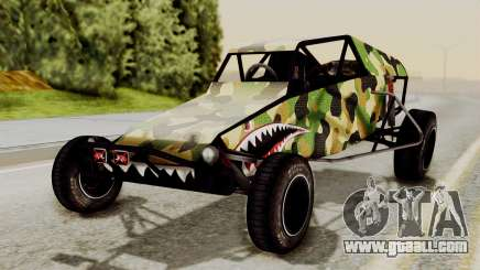 Buggy Camo Shark Mouth for GTA San Andreas
