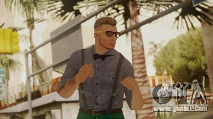 GTA Online Skin Hipster for GTA San Andreas