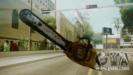 Atmosphere Chainsaw v4.3 for GTA San Andreas