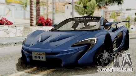 McLaren P1 GTR v1.0 for GTA San Andreas