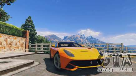 Ferrari F12 Berlinetta for GTA 5