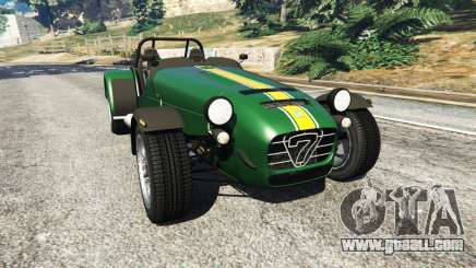 Caterham Super Seven 620R v1.5 [green] for GTA 5
