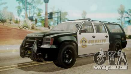 GTA 5 Declasse Granger Sheriff SUV IVF for GTA San Andreas