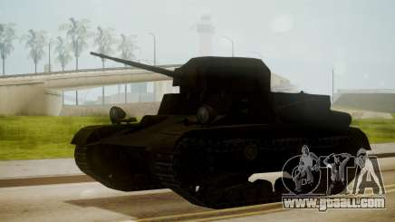 T2 Light Tank for GTA San Andreas