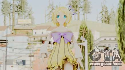Project Diva F 2nd - Kagamine Rin Cheerful Candy for GTA San Andreas