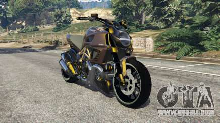 Ducati Diavel Carbon 11 v1.1 for GTA 5