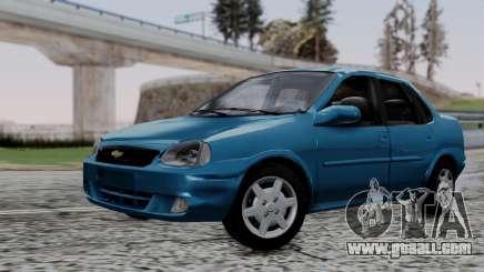 Chevrolet Corsa Classic 2009 v3 for GTA San Andreas