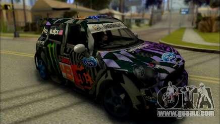 Mini Cooper Gymkhana 6 with Drift Handling for GTA San Andreas