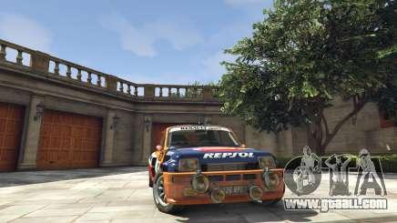 Renault 5 GT Turbo Rally for GTA 5