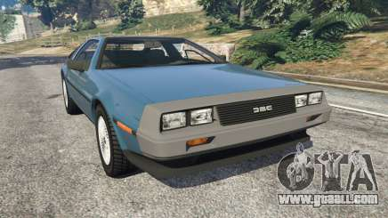 DeLorean DMC-12 v1.2 for GTA 5
