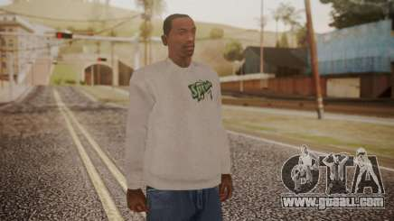 Sprunk Sweater Gray for GTA San Andreas