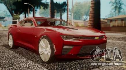 Chevrolet Camaro SS 2016 for GTA San Andreas