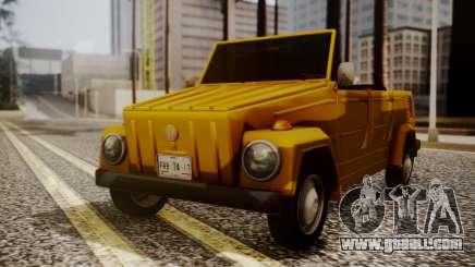 Volkswagen Safari Type 181 for GTA San Andreas
