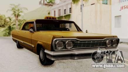 Taxi-Savanna v2 for GTA San Andreas