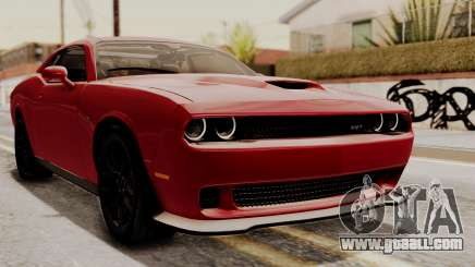 Dodge Challenger SRT Hellcat 2015 HQLM for GTA San Andreas